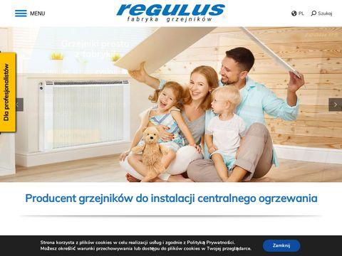 Ogrzewanie kanałowe hal - regulus.com.pl