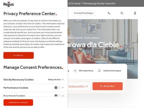 Biura wirtualne i pokoje konferencyjne - Regus Polska