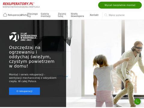Wentylacja - www.rekuperatory.pl