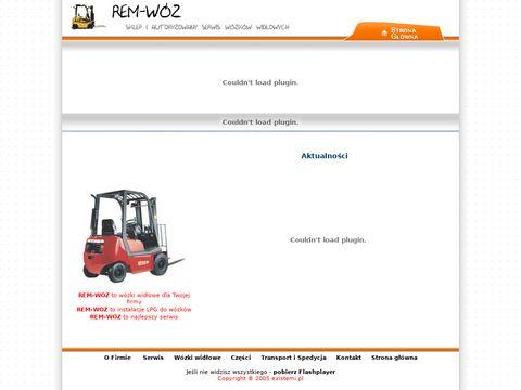 REM-WÓZ - Autoryzowany serwis wózków widlowych