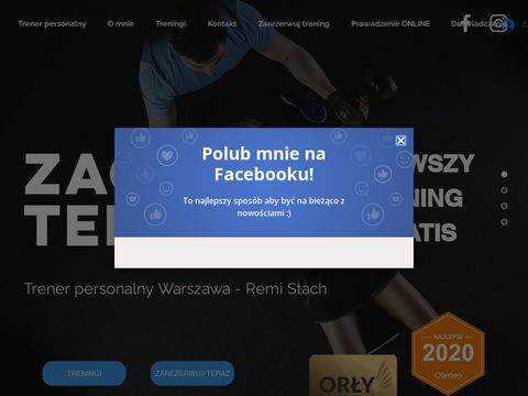 Trener Personalny Warszawa - Remi Stach