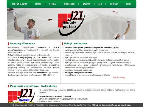 remonty, prace wykończeniowe - Warszawa