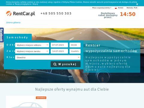 Wypo偶yczalnia samochod贸w RentCar.pl