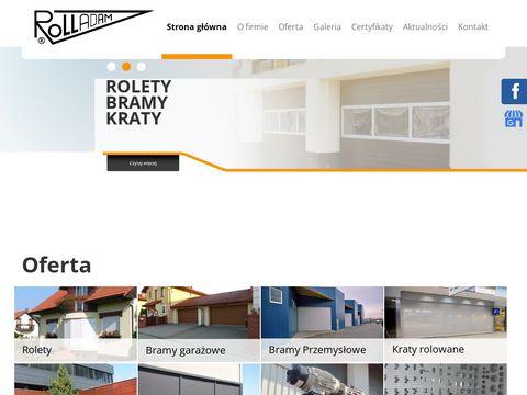 ROLL-ADAM bramy garażowe Śląsk
