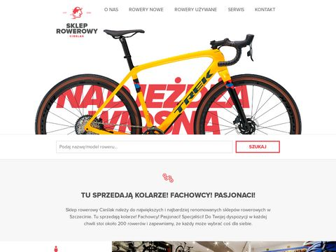 Sklep Rowerowy, Szczecin, Rowery, CieÅ›lak Siarnecki, sklepy rowerowe