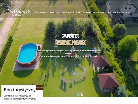 Noclegi w Rowach - Michałek