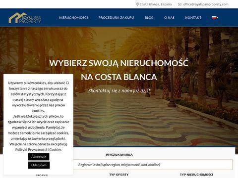 Nieruchomo艣ci Hiszpania, Royal Spain Property