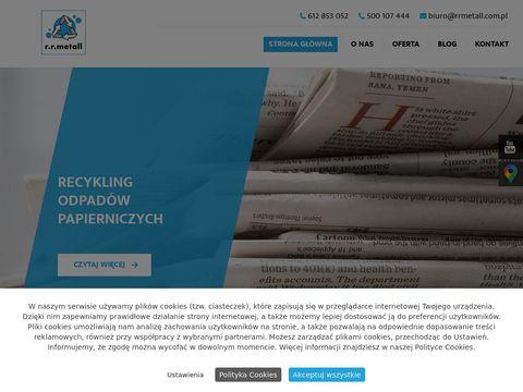 Rrmetall.com.pl odbi贸r odpad贸w z tworzywa