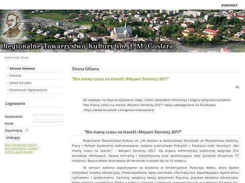 Regionalne Towarzystwo Kultury im. Juliana Macieja Goslara w Kolbuszowej