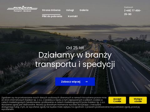 Firma transportowa Opole 鈥� nowoczesny tabor 鈥� RUBIKON