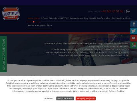 RUST CHECK POLAND zabezpieczenie antykorozyjne