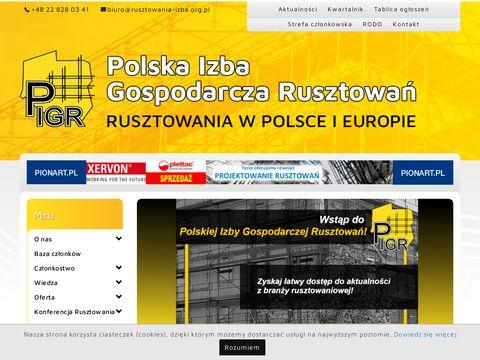 Polska Izba Gospodarcza Rusztowa艅