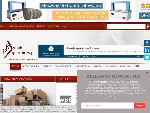 Portal branży papieru i tektury - RynekPapierniczy.pl