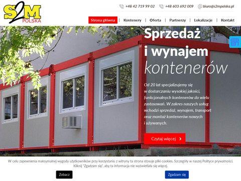 S2M POLSKA sprzedaż kontenerów