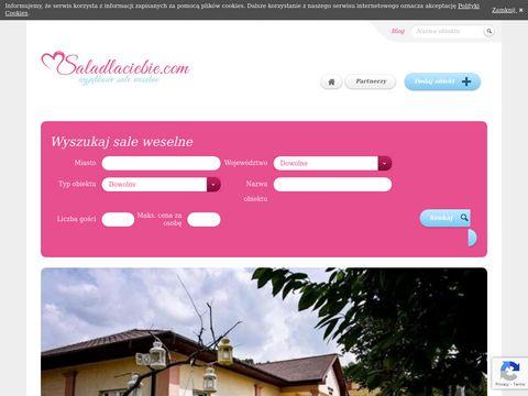 SaladlaCiebie.pl - sale weselne w Krakowie