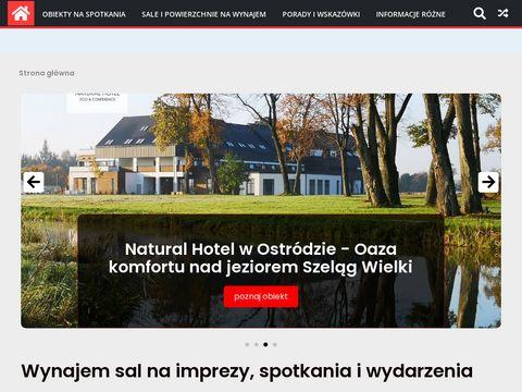 Porady dla szukaj膮cych sal na wydarzenia na saleanaspotkania.pl