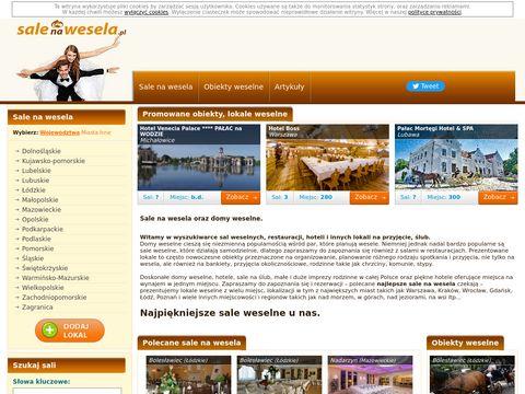 Salenawesela.pl - sale weselne