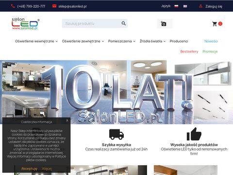 Salon LED - atrakcyjne oÅ›wietlenie LED