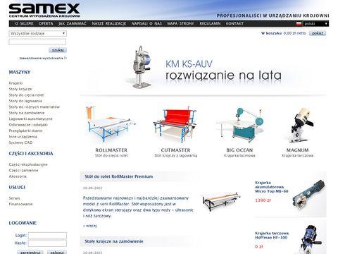 SAMEX - Centrum Wyposażenia Krojowni