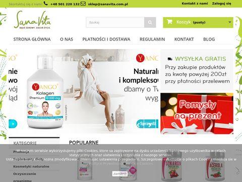 SanaVita Naturalne Suplementy Diety Sklep Internetowy