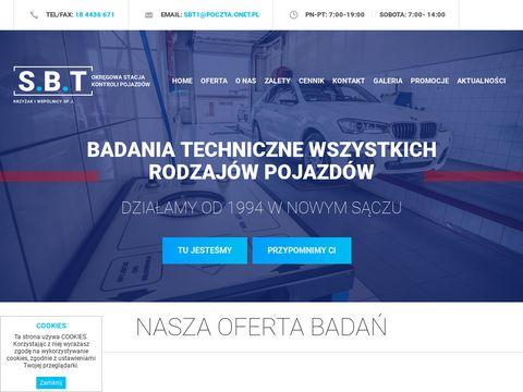 Badanie techniczne Nowy SÄ…cz