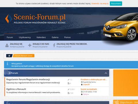 Polskie Forum Miłośników Renault Scenic