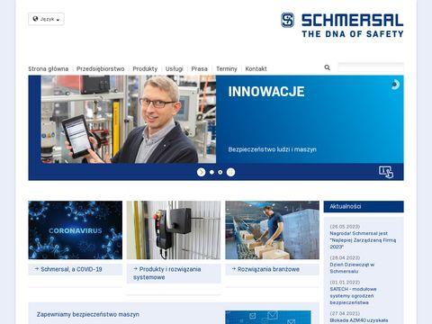 Bezpieczeństwo ludzi, niskonapięciowa - schmersal.pl