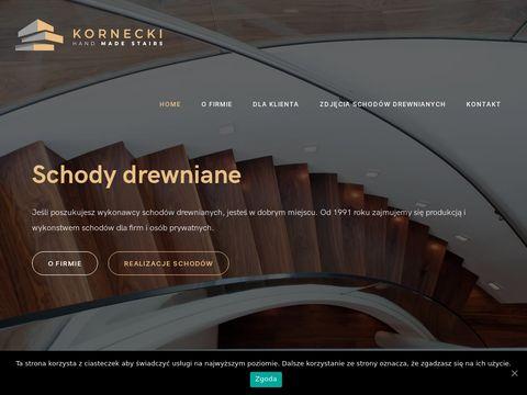 Schody-Kornecki.pl Kraków schody drewniane
