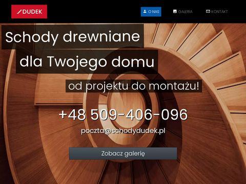 Producent schodów drewnianych Dudek