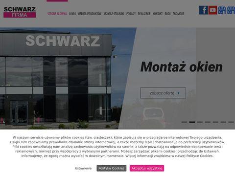 SCHWARZ-FIRMA produkcja okien PCV