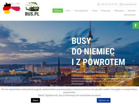 Transport Polska Niemcy - Sebo-Trans.pl