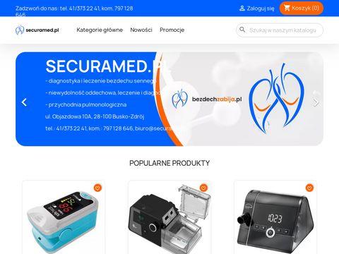 Securamed.pl - Obturacyjny bezdech senny. Leczenie i sprzÄ™t