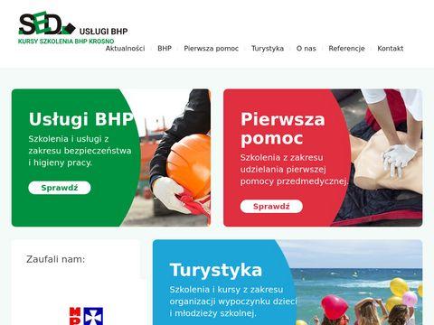 Obsługa BHP firm w Krośnie - SED Dariusz Szuba