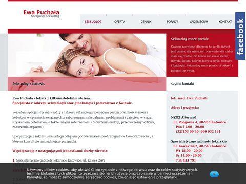 Ewa Puchała - seksuolog z katowic