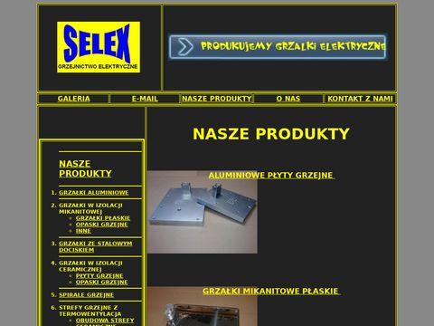 SELEX grzałki elektryczne