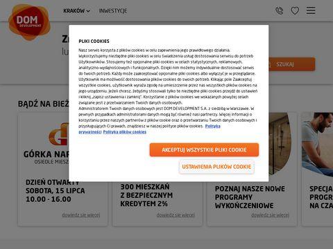 Www.sento.pl | nowe mieszkania w Krakowie