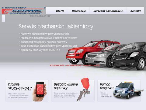 Serwis blacharsko lakierniczy Chrustek&Szura Kasina Wielka