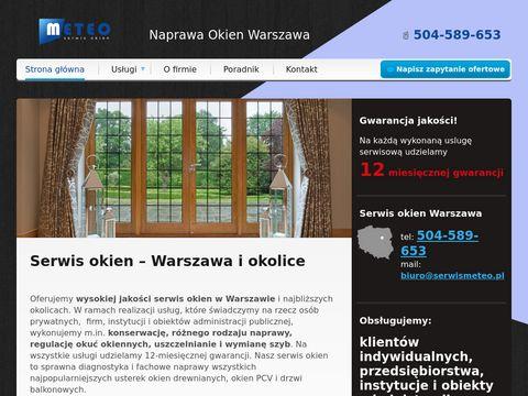 Serwis okien Warszawa