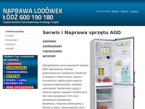 Naprawa Lodówek �ódź - Serwis AGD