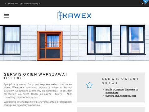 Serwis okien Warszawa Kawex