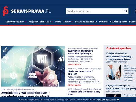 Internetowy Serwis Prawa - porady prawne, prawo online, szybka i tania pomoc