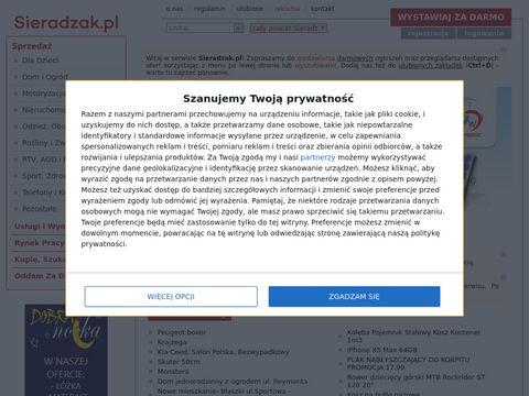 Sieradzak.pl - Ogłoszenia Sieradz - powiat Sieradz