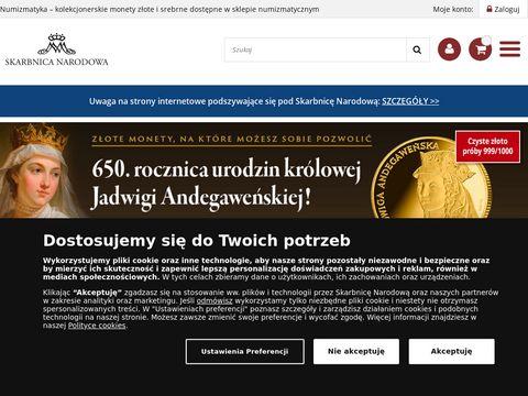 Skarbnica Narodowa - monety, medale kolekcjonerskie