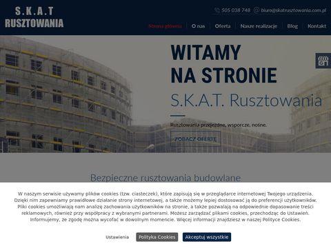 Www.skatrusztowania.com.pl rusztowania siemianowice