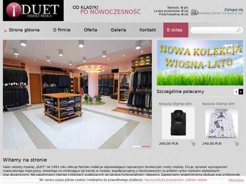 Spinki do mankietów - www.sklep-duet.pl