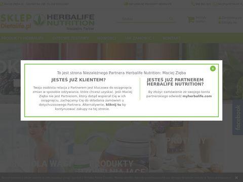 Dieta Herbalife - Sklep