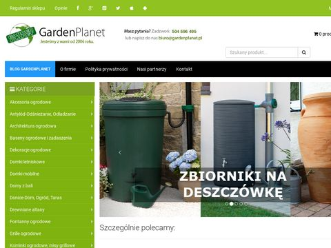 Donice ogrodowe, szklarnie ogrodowe, tunele foliowe 鈥� sklep Gardenplanet
