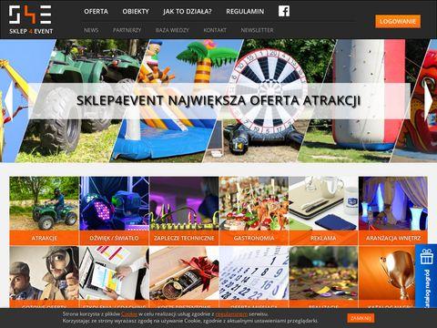 Najwi臋ksza w Polsce baza atrakcji na imprez臋