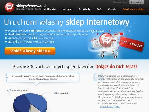 Sklepyfirmowe.pl - oprogramowanie sklepu internetowego
