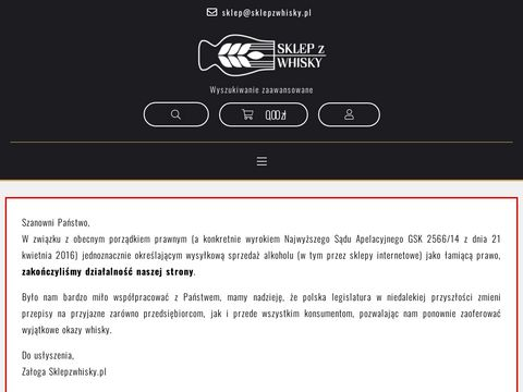 Sklep z whisky - Sklepzwhisky.pl